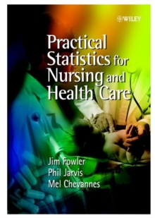 Image for Practical statistics for nursing and health care