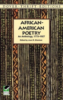 Image for African-American Poetry : An Anthology, 1773-1927