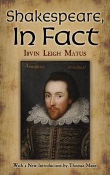 Shakespeare, In Fact