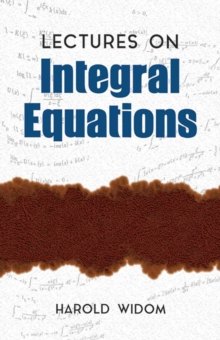 Image for Lectures on integral equations