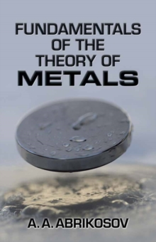 Image for Fundamentals of the theory of metals