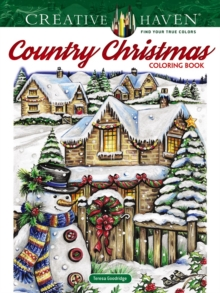 Image for Creative Haven Country Christmas Coloring Book