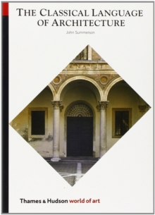 Image for The Classical Language of Architecture
