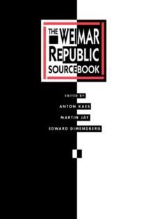Image for The Weimar Republic sourcebook