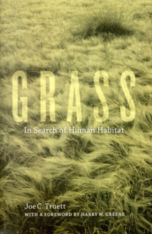 Image for Grass  : in search of human habitat