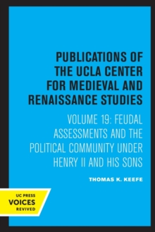 Image for Feudal assessments and the political community under Henry II and his sons
