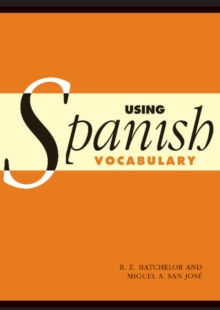 Image for Using Spanish vocabulary