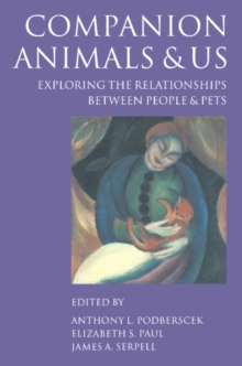 Image for Companion animals and us  : exploring the relationships between people and pets
