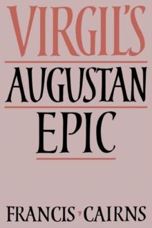 Image for Virgil's Augustan epic
