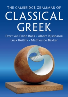 Image for The Cambridge grammar of classical Greek