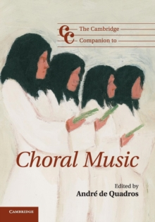 Image for The Cambridge companion to choral music