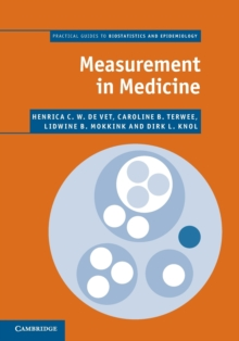 Image for Measurement in medicine  : a practical guide