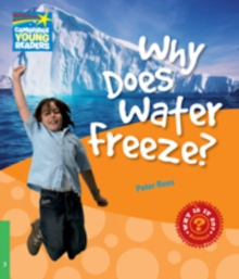 Image for Why does water freeze?: Level 3 factbook