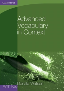 Image for Advanced vocabulary in context