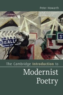 Image for The Cambridge introduction to modernist poetry