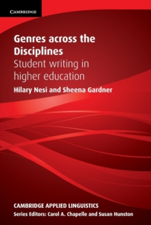 Image for Genres across the disciplines  : student writing in higher education