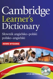 Image for Cambridge Learner's Dictionary English-Polish with CD-ROM : Slownik Angielsko-Polski