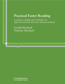 Image for Practical Faster Reading : An Intermediate/Advanced Course in Reading and Vocabulary
