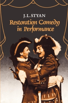 Image for Restoration Comedy in Performance