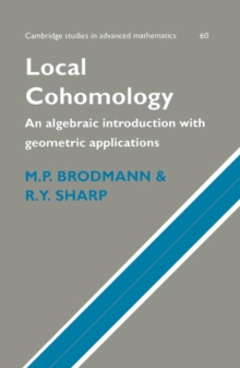 Image for Local cohomology  : an algebraic introduction with geometric applications