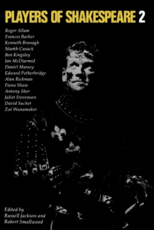 Image for Players of Shakespeare 2  : further essays in Shakespearian performance by players with the Royal Shakespeare Company