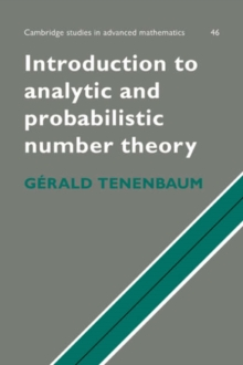 Image for Introduction to Analytic and Probabilistic Number Theory