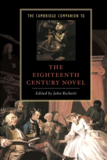 Image for The Cambridge companion to the eighteenth-century novel