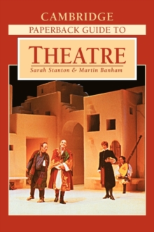 Image for Cambridge paperback guide to theatre
