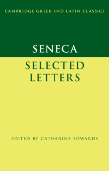 Image for Seneca  : selected letters