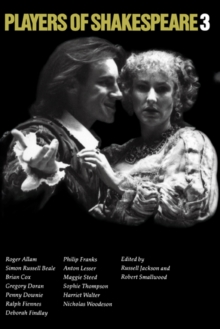 Image for Players of Shakespeare 3 : Further Essays in Shakespearean Performance by Players with the Royal Shakespeare Company