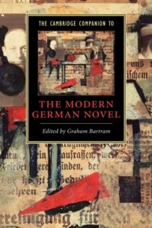 Image for The Cambridge companion to the modern German novel