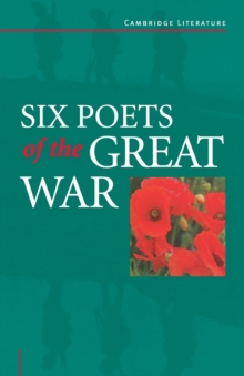 Image for Six poets of the Great War