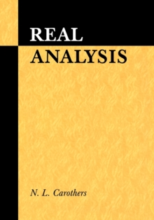 Image for Real analysis