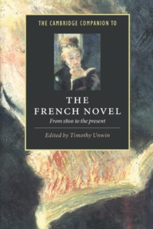 Image for The Cambridge companion to the French novel  : from 1800 to the present