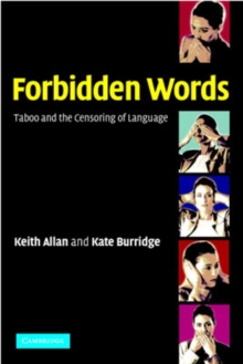 Image for Forbidden words  : taboo and the censoring of language