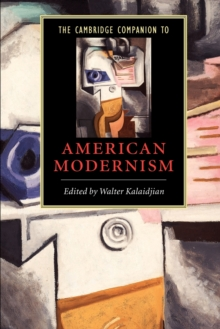 Image for The Cambridge companion to American modernism