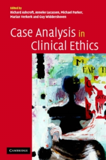 Image for Case analysis in clinical ethics