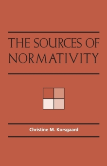 Sources of Normativity