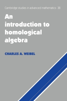 Image for An Introduction to Homological Algebra