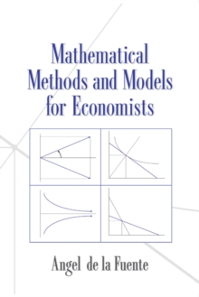 Image for Mathematical methods and models for economists