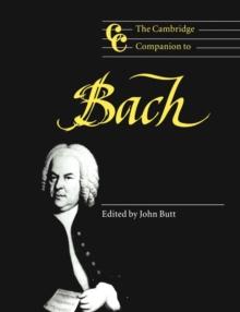 Image for The Cambridge companion to Bach