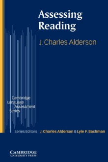 Image for Assessing reading