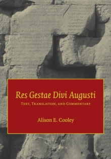 Image for Res gestae divi Augusti