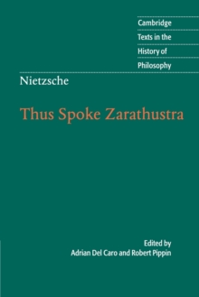 Image for Thus spoke Zarathustra  : a book for all and none