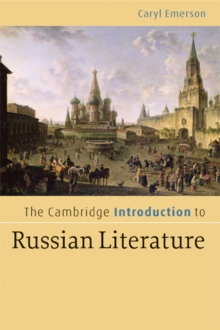 Image for The Cambridge introduction to Russian literature
