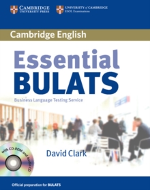 Image for Essential BULATS with Audio CD and CD-ROM