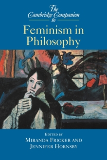 Image for The Cambridge companion to feminism in philosophy
