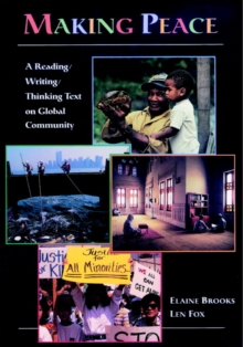 Image for Making peace  : a reading/writing/thinking text on global community