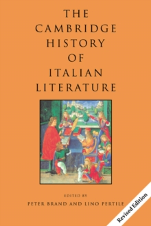 Image for The Cambridge history of Italian literature