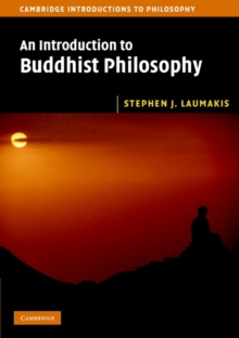 Image for An introduction to Buddhist philosophy